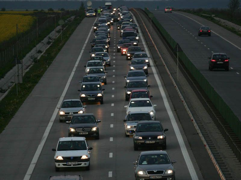TRAFIC INTENS - A2