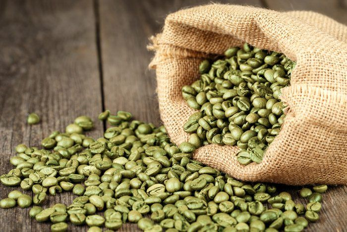 green-coffee-beans-bag