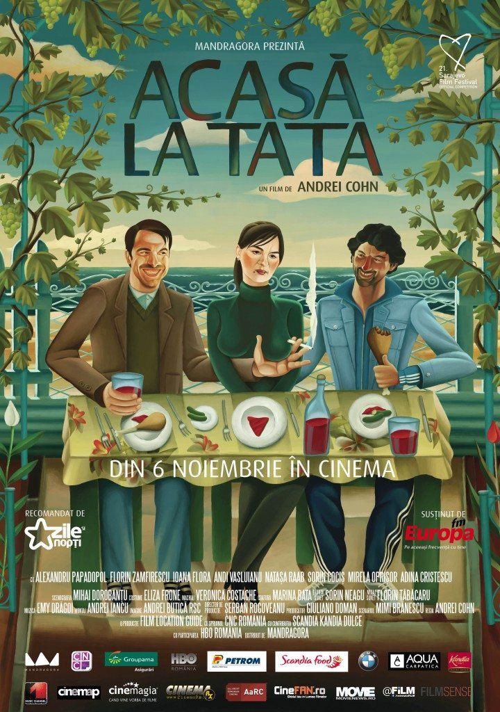 Poster Acasa la Tata (1)