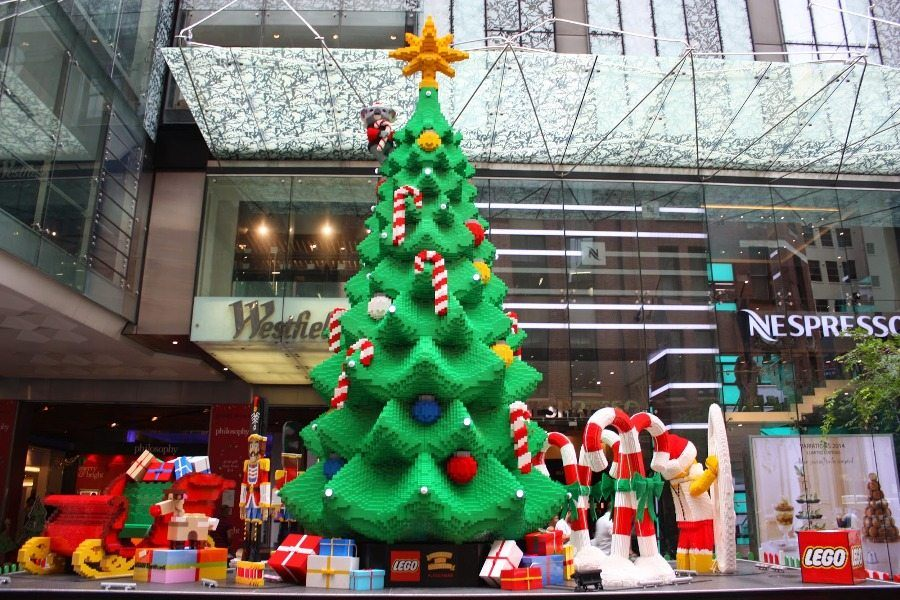 Pitt Street Mall Lego Tree