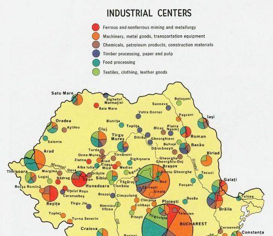 Industria românească în 1970